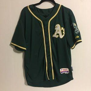 Oakland A's Green Jersey #54 Sonny Gray Size 40